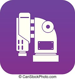 空気, 紫色, 機械, デジタル, ハンマーアイコン
