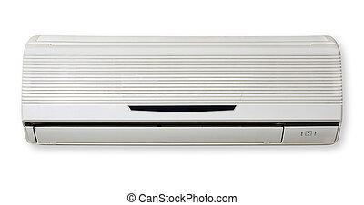 空氣, 條件, 被隔离, 在, 白色, 背景。, 空氣, conditioning.