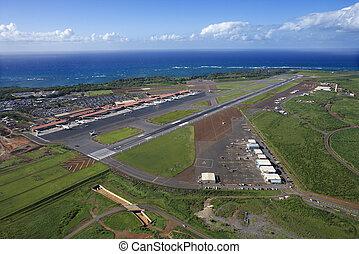 空港。, maui, ハワイ