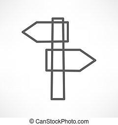 空白征候, 道路, 图标