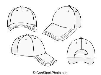 空白, 帽子