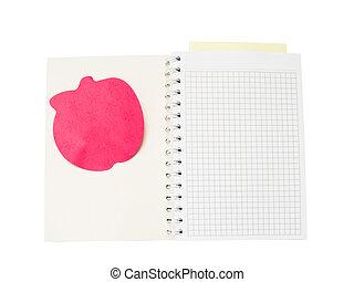 空白, notepad