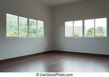 空的房間, 內部設計