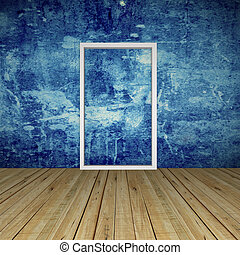 空的房間, 由于, 門