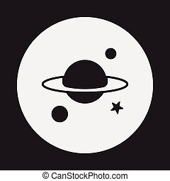 空間, 行星, 圖象