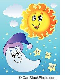 空, ∥で∥, 太陽, そして, 月
