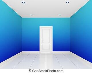 空, カラフルである, 部屋, 壁