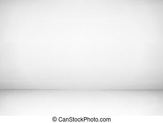 空, スタジオ, 部屋, interior., 白い壁, そして, 床, バックグラウンド。, きれいにしなさい, ワークショップ, ∥ために∥, 写真撮影, ∥あるいは∥, presentation., ベクトル, イラスト