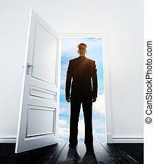 空, ドア