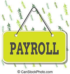 空, 会社, 有色人種, お金, メモ, メモ, 合計, 背景, payroll., rectangle., 執筆, テキスト, 量, ブランク, 給料, 意味, 手書き, 支払う, スペース, 従業員, 支払い, 付加, 概念, 板