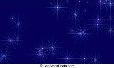 空, 星が多い