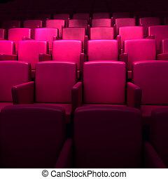 空, 映画館, 講堂