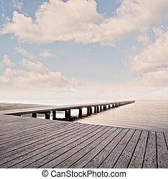 空, 桟橋
