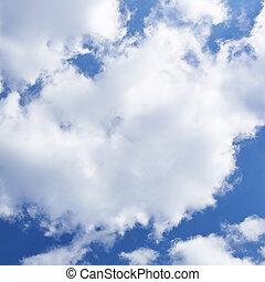 空, 構成, 曇り