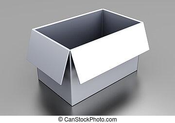 空, 箱子