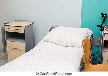 空, 醫院房間