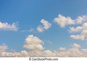 空, 雲, バックグラウンド。