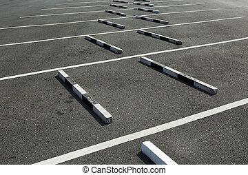 空, 駐車場