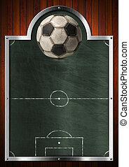 空, 黒板, ∥ために∥, サッカー, スポーツ