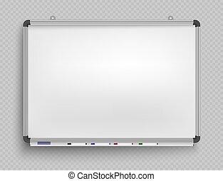 空, markers., 予測, whiteboard, フレーム, 板, プレゼンテーション, オフィス, screen., 背景