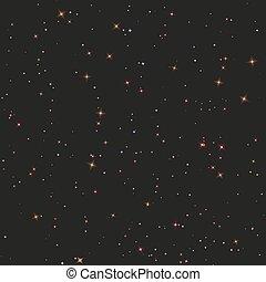 空, seamless, 夜