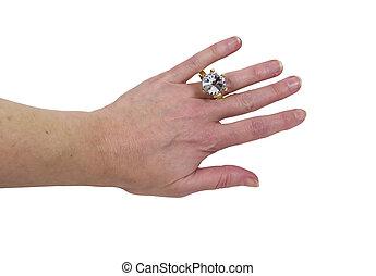 穿, 戒指, 約會