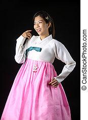 穿, 韓國語, 傳統, 衣服