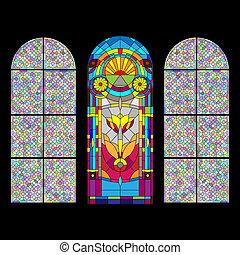 窓, ステンドグラス