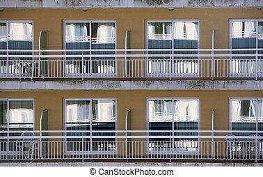 窓, ホテル