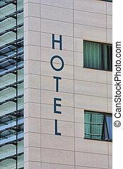 窓, ホテル, 印
