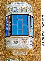 窓, 中に, ∥, 建物