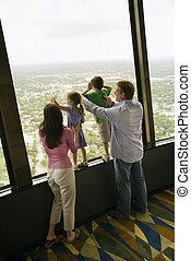 窓。, 家族