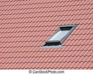 窓, 屋根