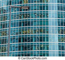 窓, 建物, オフィス, 背景
