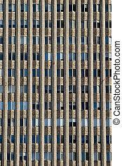 窓, 建物, 抽象的