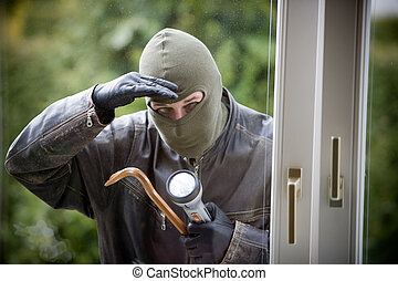 窓, 強盗
