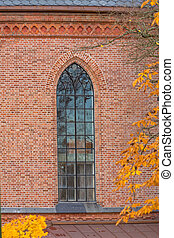窓, 教会, 高い