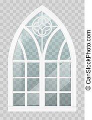 窓, 木, gothic