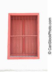 窓, 白い赤, wall.