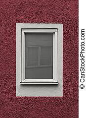 窓, 白, 反射