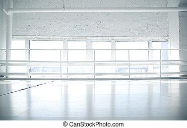 窓, 白, 産業, 背景, 床