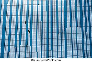 窓, 超高層ビル