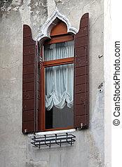 窓, 1(人・つ), ベニス