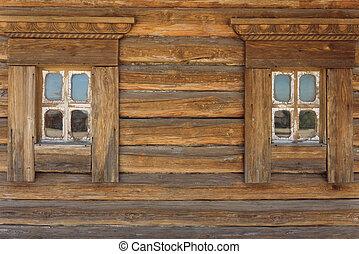 窓, 2, 木製である