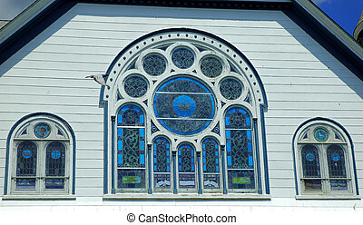 窓, stainglass