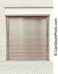 窗板, 建筑物, 门