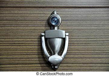 窺視, 門, 洞, 門環