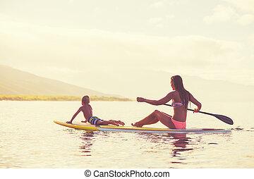 立ち上がりなさい, かいで漕ぐ, ∥において∥, 日の出