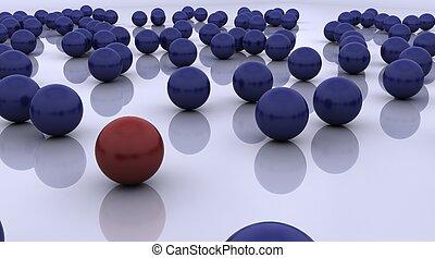 立場, ボール, 概念