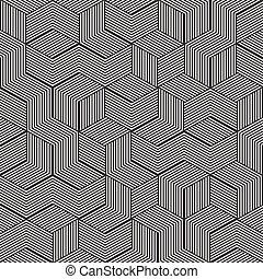 立方体, ストライプ
